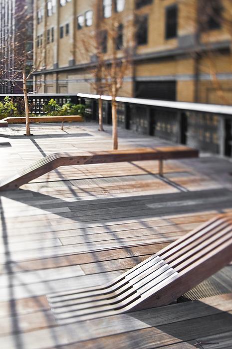 Architectural Detail Photograph - High Line Park by Eddy Joaquim