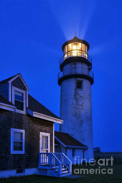 Cape Cod Photograph - Highland Lighthouse by John Greim