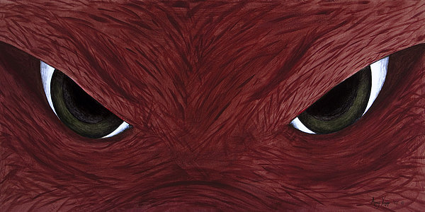 Arkansas Painting - Hog Eyes by Amy Parker