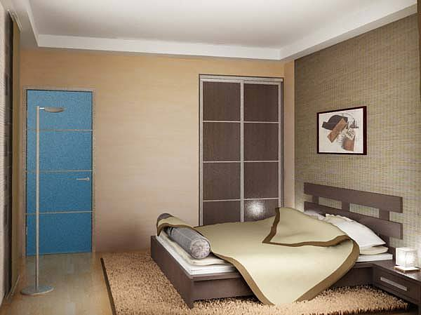 Interiors Drawing - Hotel Bedroom Single Ultra Moderated Deigned With A Quiet Mode Observed Easily by Walid Fahmy