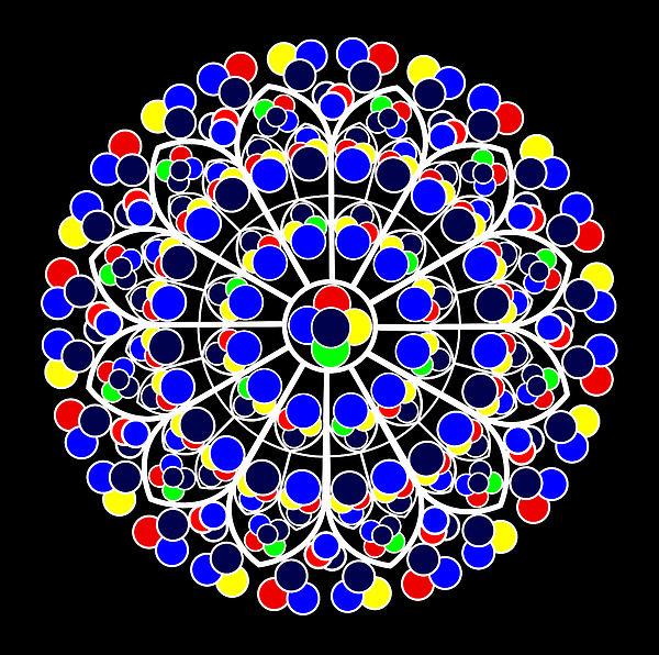 Inspired By South Rose Window Notre Dame De Paris Digital ...