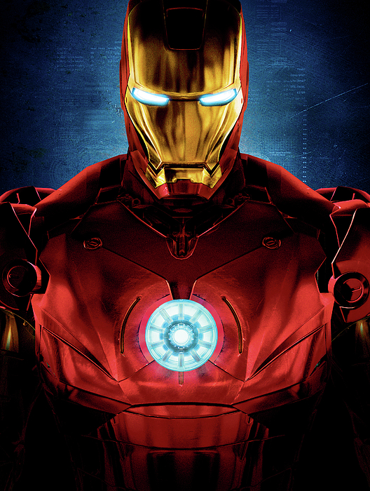 Captain America Digital Art - Iron Man by Caio Caldas