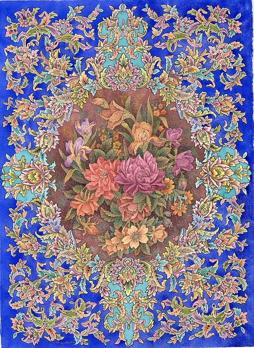 Isfahan Painting by Reza Badrossama