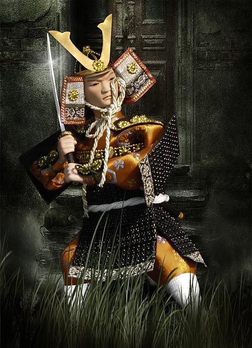 Japan Photograph - Japanese Samurai Doll by Christine Till