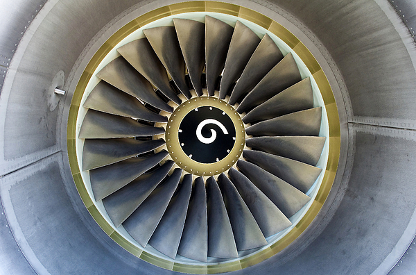 Engine Photograph - Jet Engine Detail. by Fernando Barozza