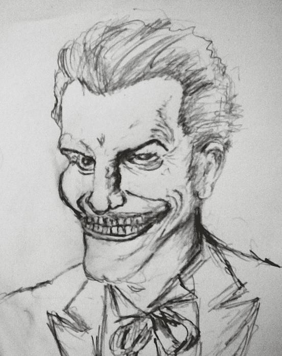 Joker Painting - Joker by Bekim Axhami