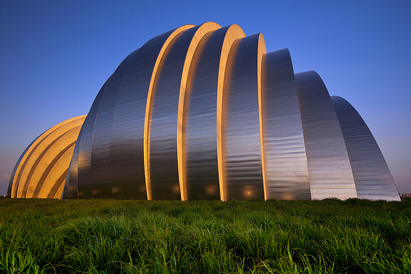 Architecture Photograph - Kauffman Center by Ryan Heffron