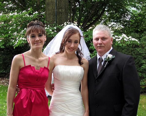Bride Photograph - Kayla Jeff Wedding Sample 7 by George Jones
