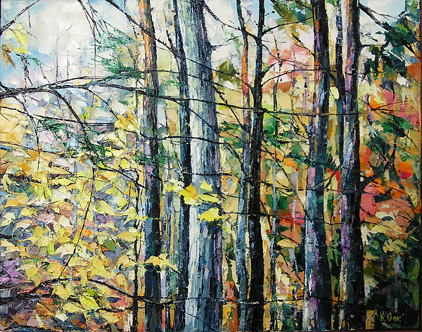 Nature Painting - Killarney by Keren Gorzhaltsan