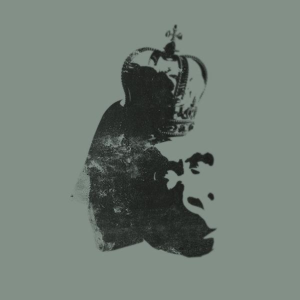 Banksy Photograph - King Ape by Pixel Chimp