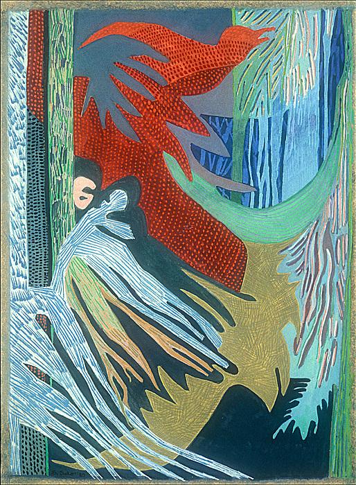 Abstract Painting - Kurunda by Sandra Salo Deutchman