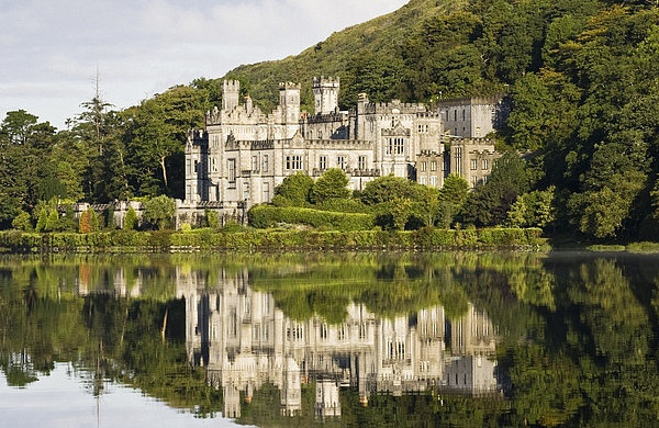 Abbey Photograph - Kylemore Abbey, County Galway, Ireland by Peter McCabe