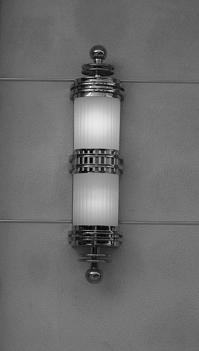 Sconce Photograph - Lighted Wall Sconce by Rob Hans