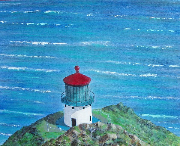 Lighthouse Painting - Lighthouse by Tony Rodriguez