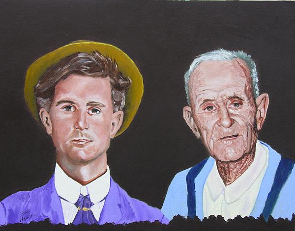 Portrait Painting - Louis by Stan Hamilton