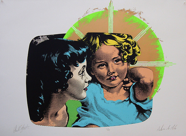 Madonna And Child Mixed Media - Madonna De Milo by Charles Stuart
