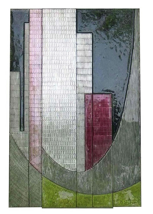 Sculptures Relief - Manhattan by Barukh Shoham