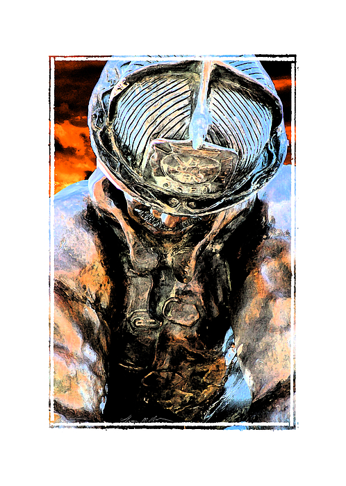 Firefighter Digital Art - Memorial To A Hero by Tommy Anderson