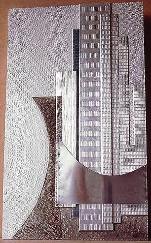 Sculptures Relief - Metropolitan by Barukh Shoham