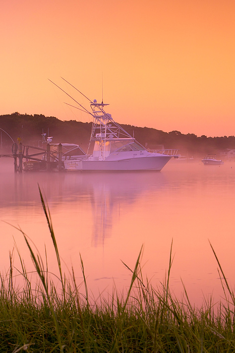 Mist Photograph - Misty Morning Osterville Cape Cod by Matt Suess