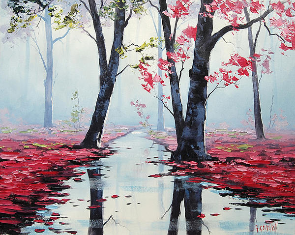 Fall Painting - Misty Pink by Graham Gercken