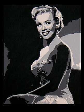 Marilyn Monroe Painting - Monroe by Michael James Toomy