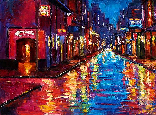 New Orleans Art Painting - New Orleans Magic by Debra Hurd