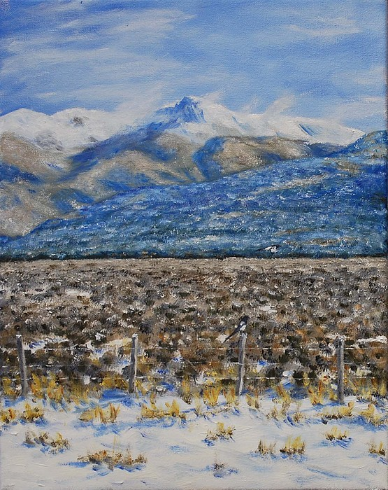 Taos Painting - North Of Taos by Stanton Allaben