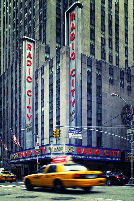 Ny Photograph - Nyc Radio City Music Hall by Nina Papiorek