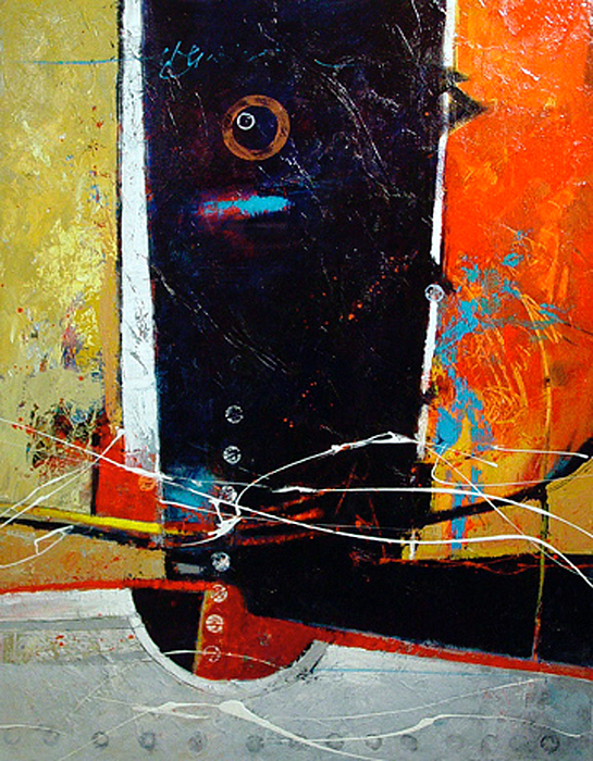 Abstract Painting - Observatory by Dale  Witherow