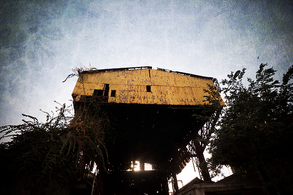 Wasteland Photograph - Obsolete Building by Kam Chuen Dung