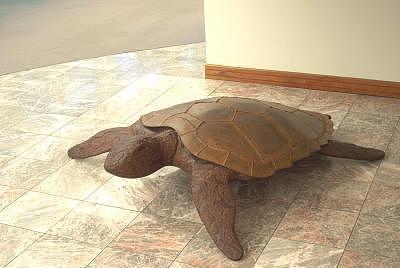 Sculpture Sculpture - Opus 14 Sea Turtle by Richard beau Lieu