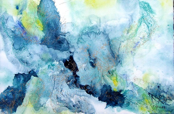 Abstract Painting - Out Of The Depths by John Keller