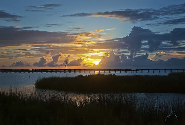 Outer Banks Sunset Photograph by Williams-Cairns Photography LLC
