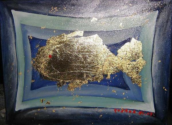 Pestisor Painting by Roxana Niculae