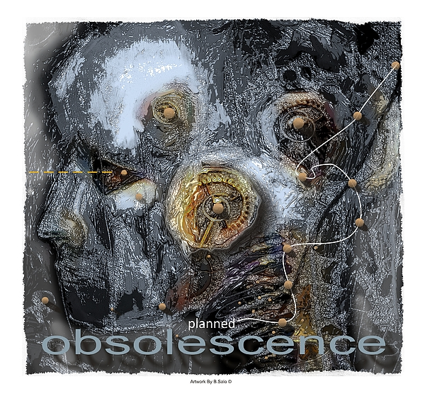 Abstract Painting - Planned Obsolescence by Bob Salo