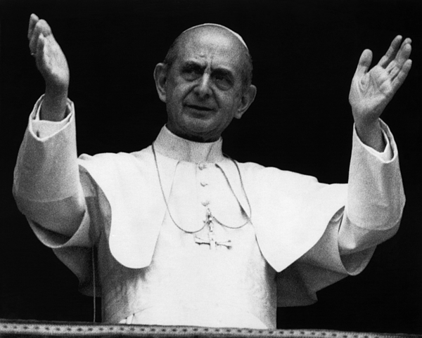 1970s Photograph - Pope Paul Vi, Circa Early 1970s by Everett