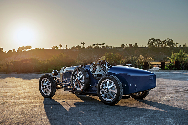 Pur Photograph - Pur Sang Bugatti Type 35 by Drew Phillips