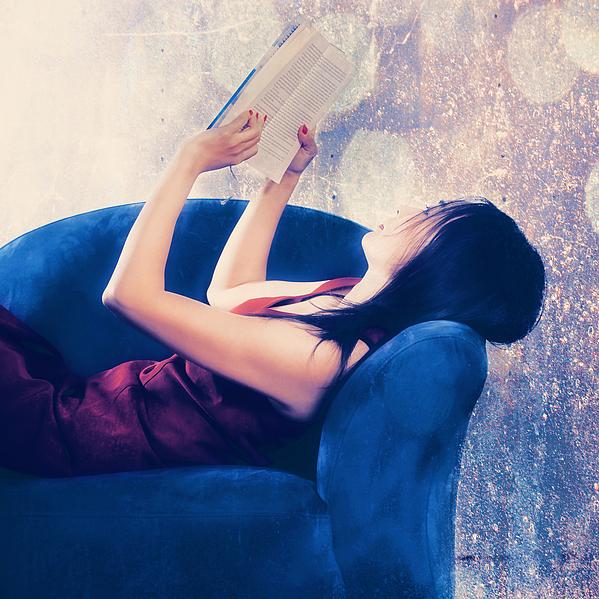 Woman Photograph - Reading by Joana Kruse