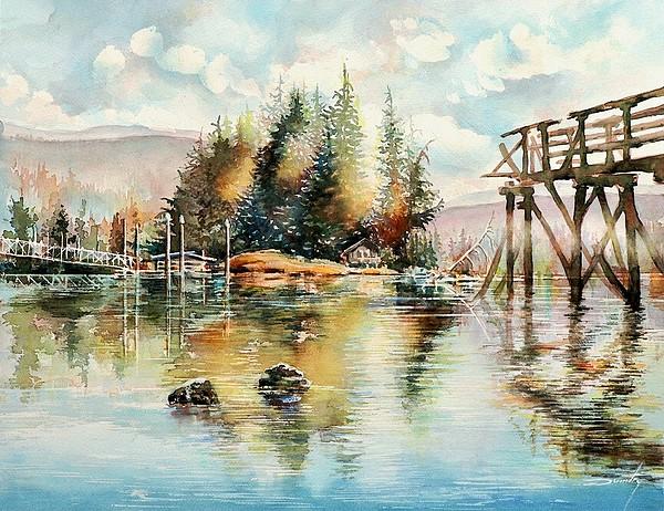 Sky Painting - Reflexions by Dumitru Barliga