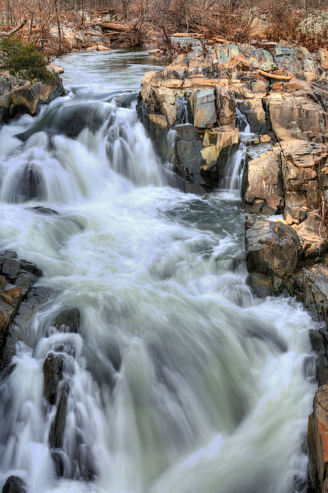 Great Falls Park Photograph - Rush Hour by JC Findley