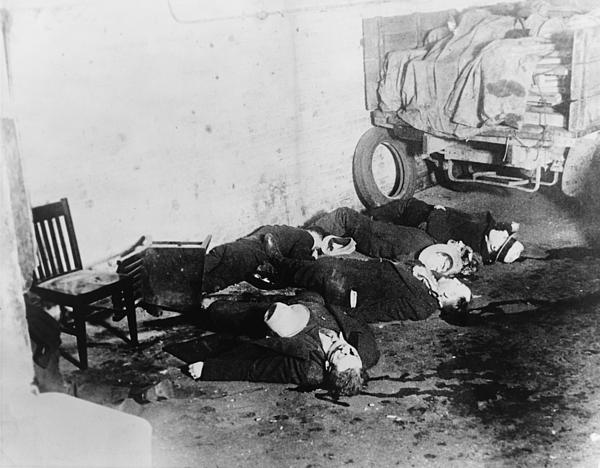 Saint Valentines Day Massacre Seven Photograph By Everett