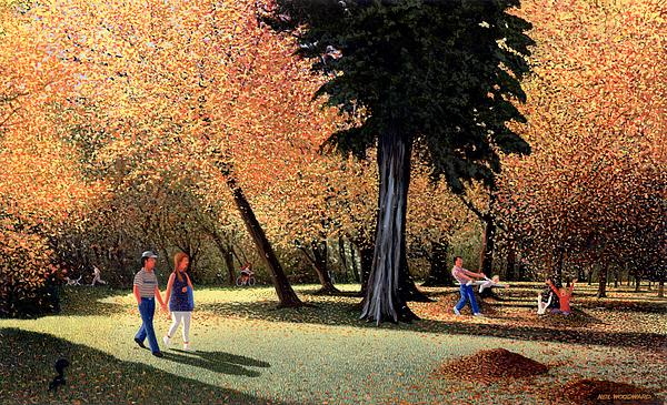 Autumn Painting - Season Of Abundance And Joy by Neil Woodward