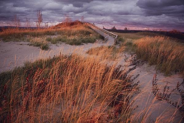 Sand Dunes Photograph - Sleeping Bear Dunes National Lakeshore by Melissa Farlow