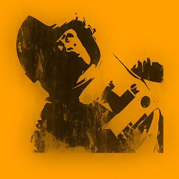 Banksy Photograph - Space Ape by Pixel Chimp