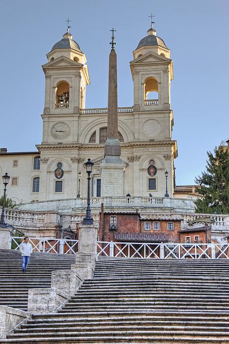 Spanish Steps Photograph - spanish steps in Rome by Joana Kruse