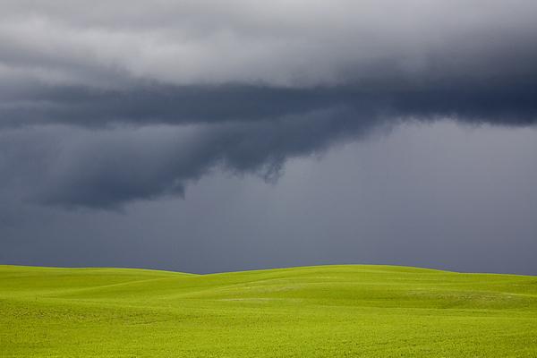 Storm Photograph - Storm Clouds Saskatchewan by Mark Duffy