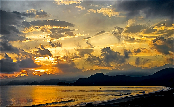 Sunshine Photograph - Sunshine At Puerto Cabello by Galeria Trompiz