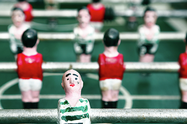 Derby Photograph - Table Soccer by Gaspar Avila