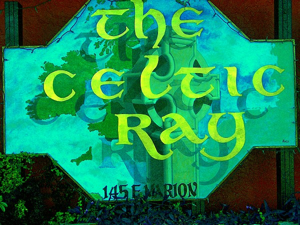 the Celtic Ray Painting by Charles Peck